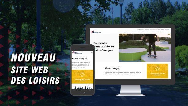 Nouvelle plateforme Web et page Facebook pour le Service des loisirs